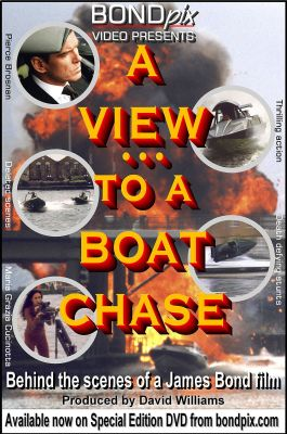 Boat Chase stunt and action DVD