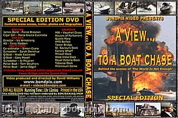 James Bond stunt video DVD