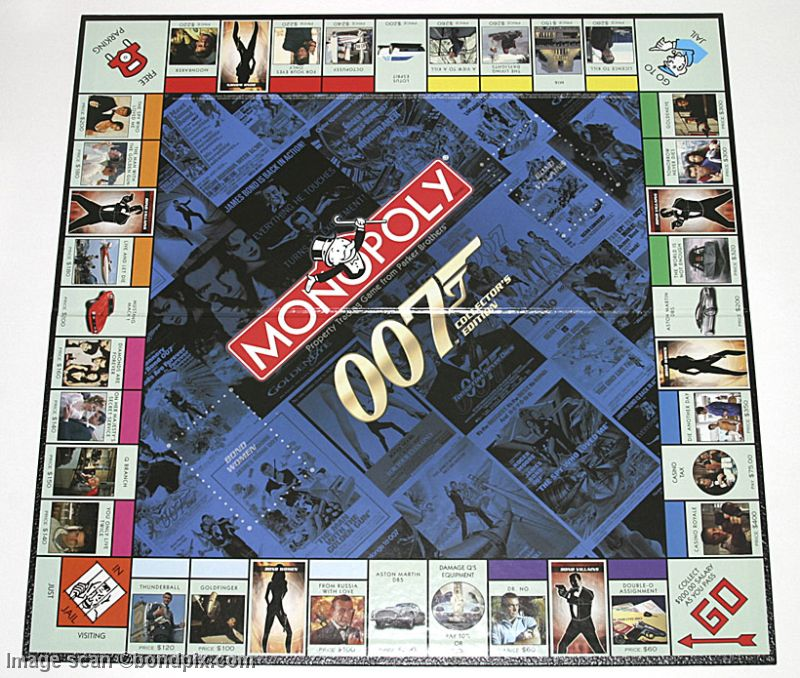 James Bond 007 Monopoly Board Game By Parker Brothers For Sale