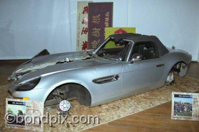 James Bond Exhibitions London Exhibition 2002 Twine Bmwz8