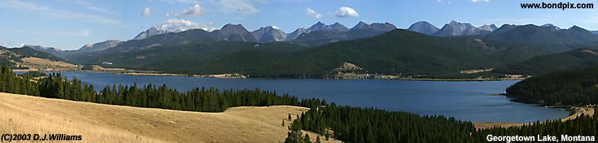 Georgetown Lake in Montana