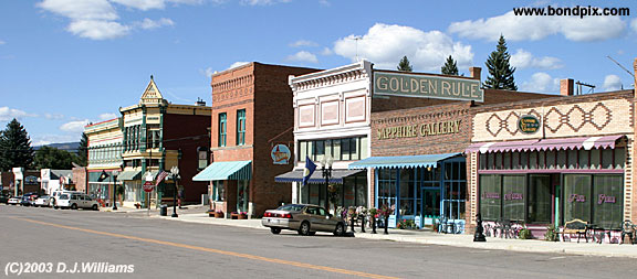 Town of Philpsburg in Montana